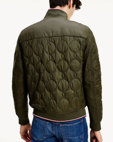 Tommy Hilfiger Reversible Quilted Bomber Jacket