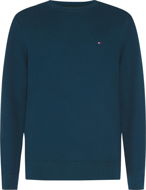 Tommy Hilfiger Honeycomb Crew Neck Jumper