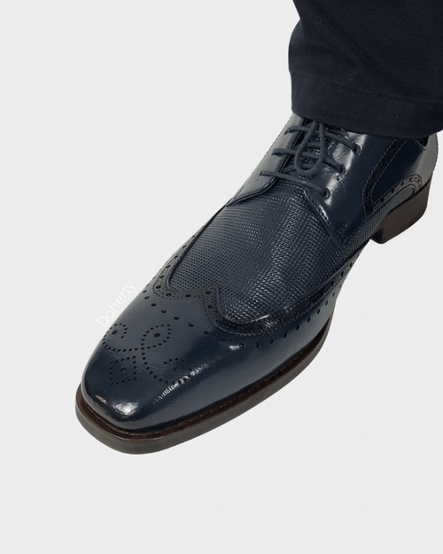 Navy George Brogue