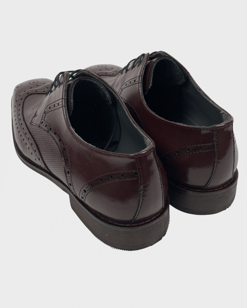 Burgundy George Brogue