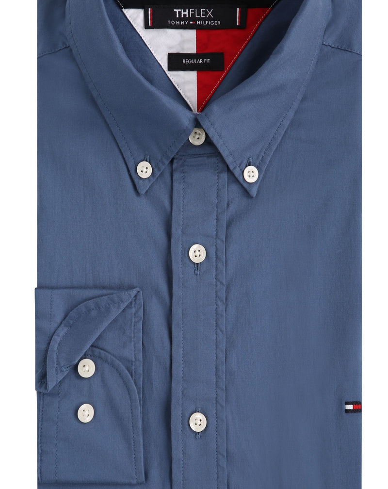 Tommy Hilfiger Fine Twill Shirt Blue