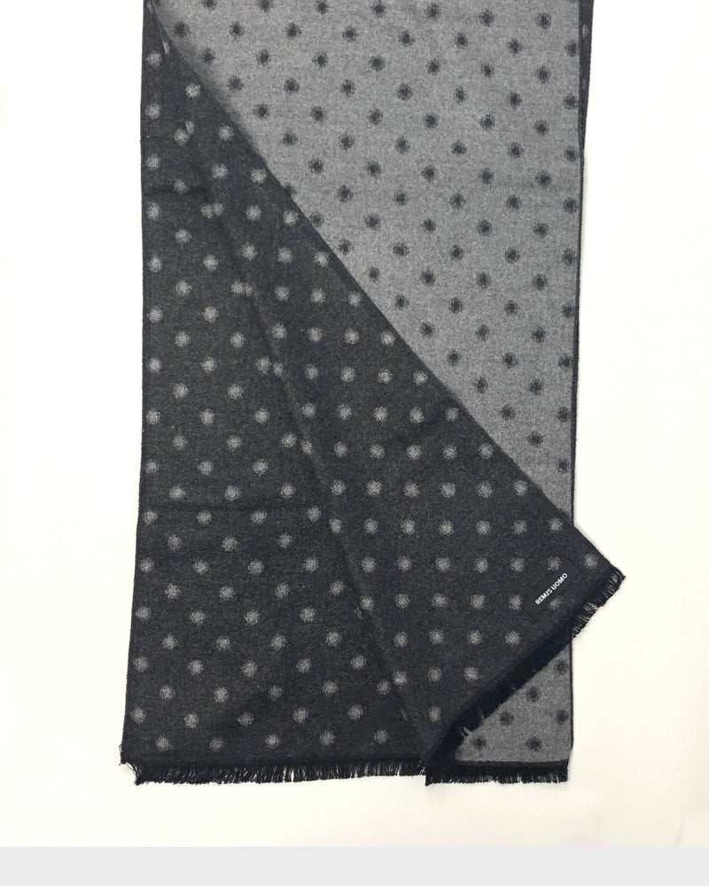 Dot Pattern Double Sided Scarf