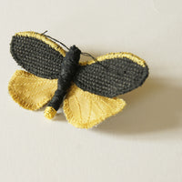 Common Footman Tiger Moth Brooch Entomology Jewelry