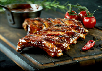 Pork Ribs (available with BBQ glaze)