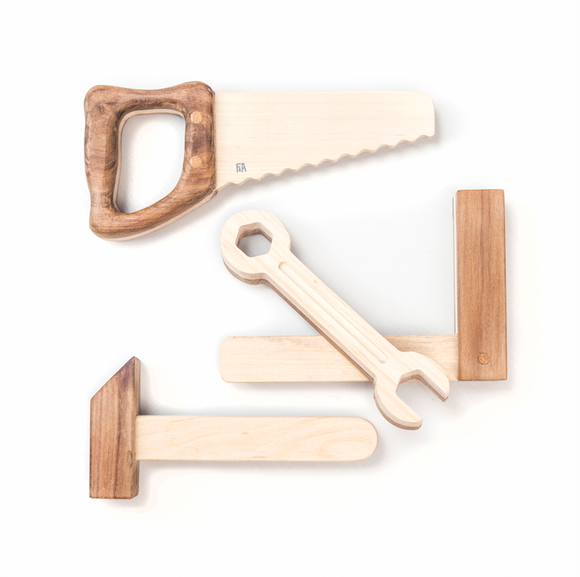 set d'outils fanny and alexander bois naturel