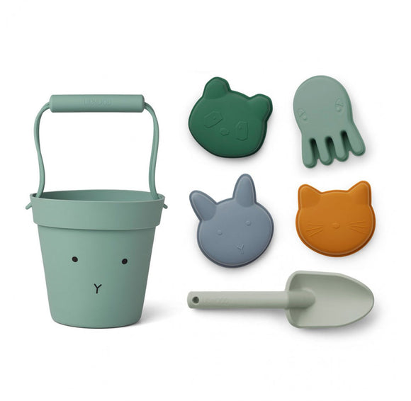 Set de plage en silicone rabbit peppermint multi mix