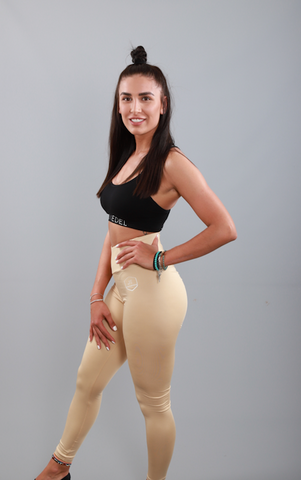 LEGGINGS VERMONT - Creme