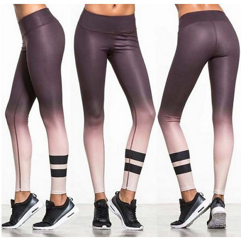 Leggings OMAHA - Dark Purple - OUTLET
