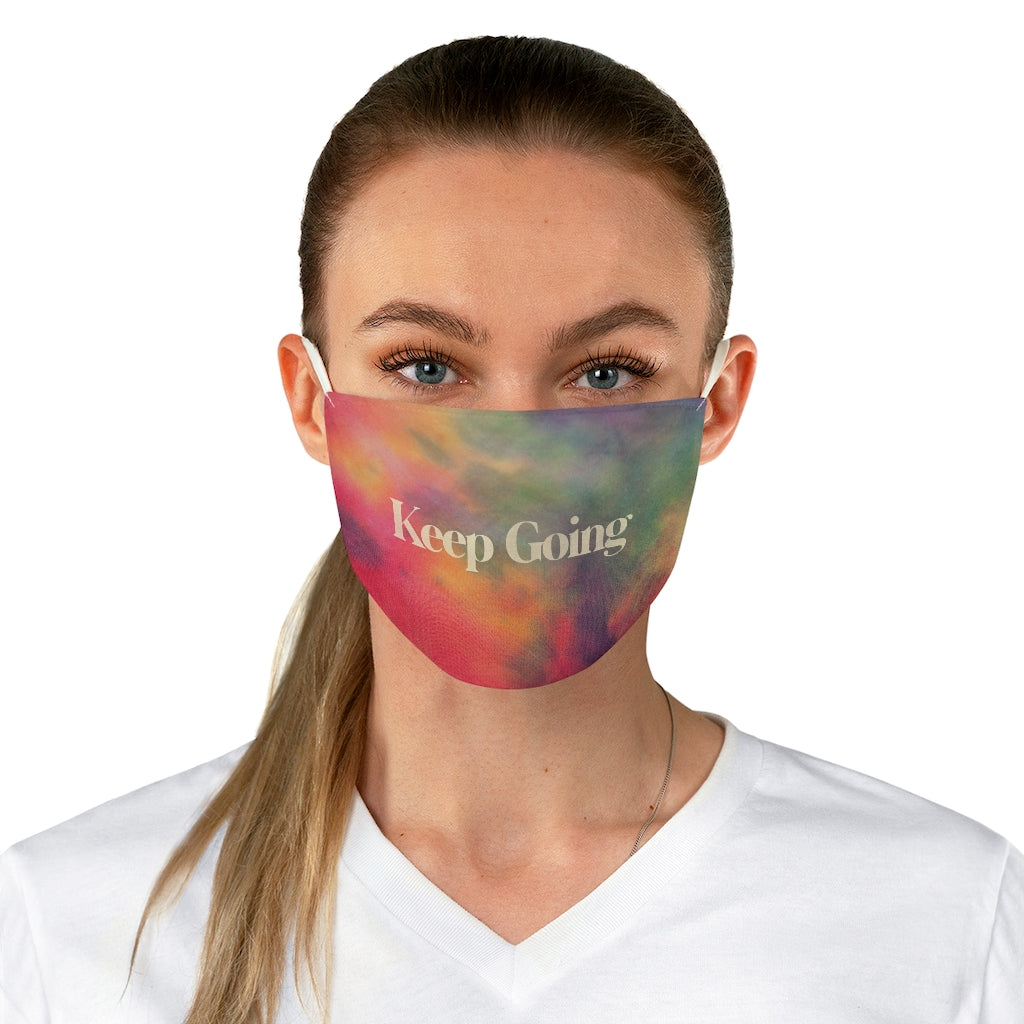 Keep Going Tie Dye Mask