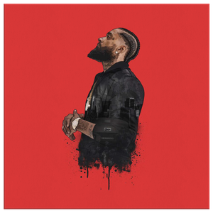 Nipsey Tha Great Square Canvas