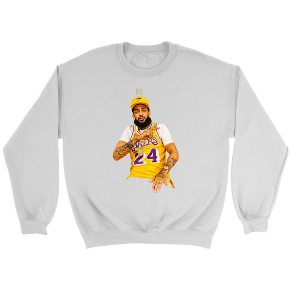 King Nipsey x King Kobe Crewneck