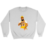 King Nipsey Lakers Crewneck