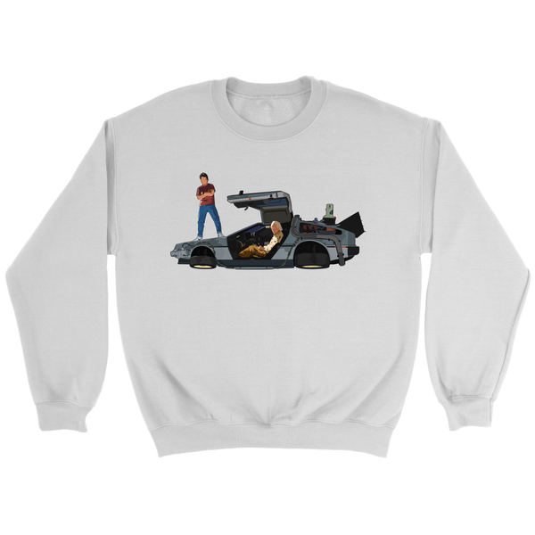 Doc & Marty Crewneck