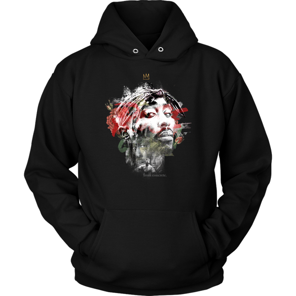The Rose That Grew From Concrete Hoodie
