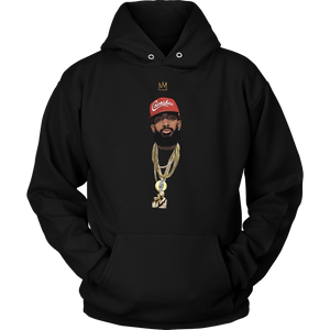 King Nipsey Hoodie V2 Illustrated (Red Hat)