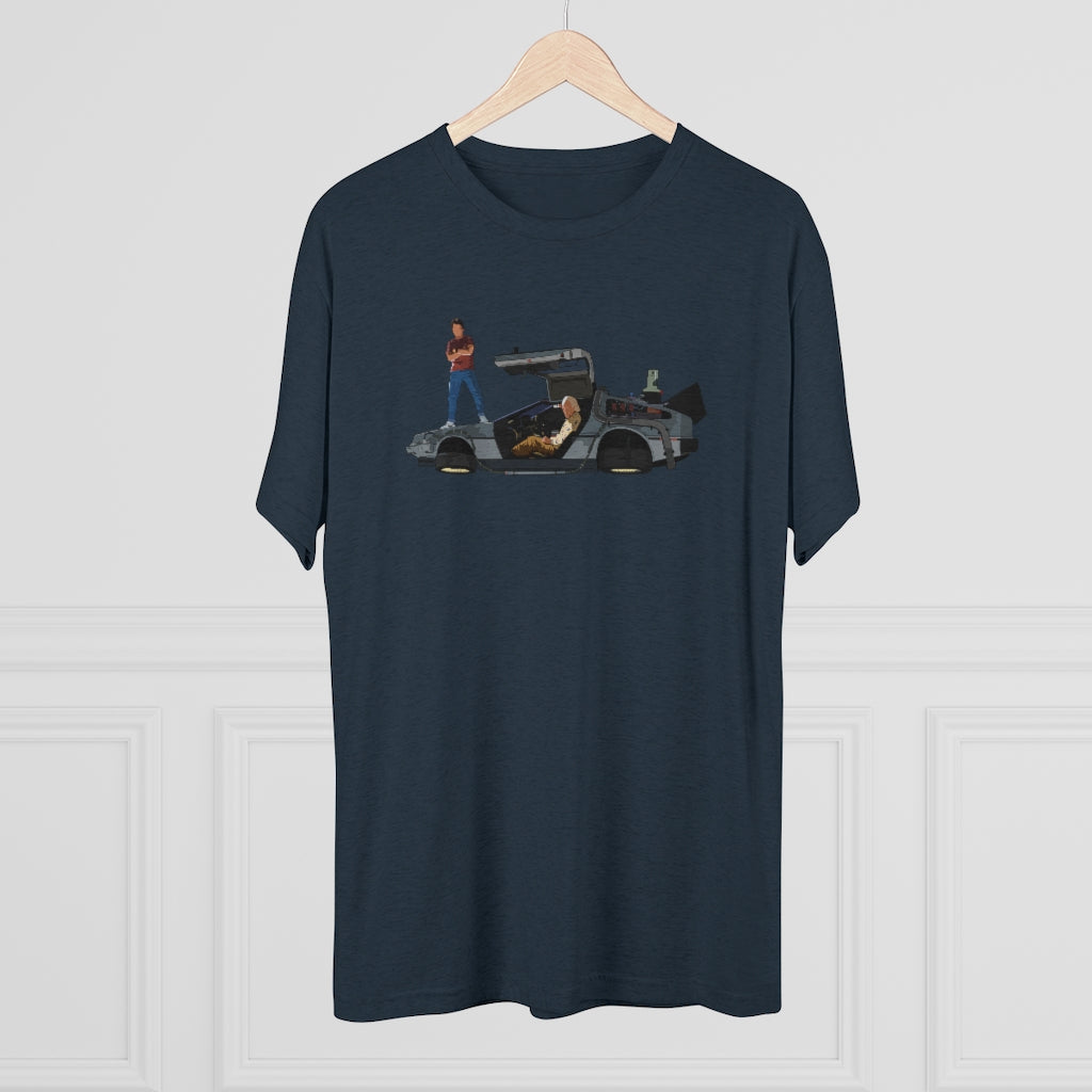 Doc & Marty Tri-Blend Tee
