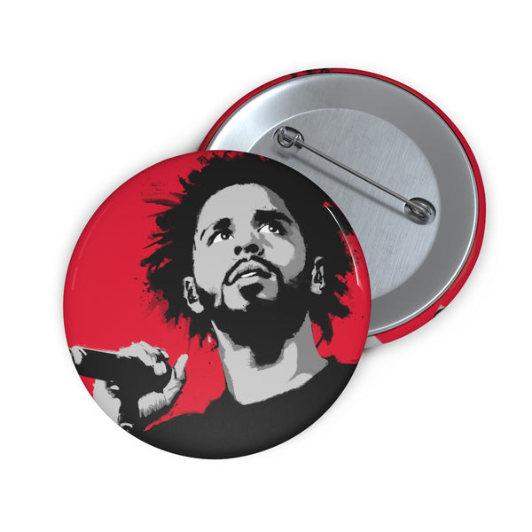 "J Cole 2"" Button"