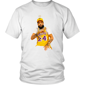 King Kobe x King Nipsey 24 Tee (Up to 4XL)