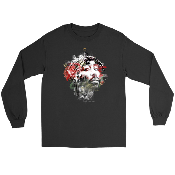 The Rose That Grew From Concrete LS Tee