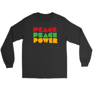 Peace Peace Power LS Tee