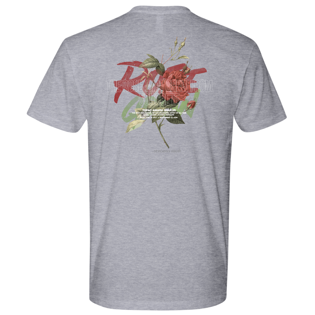 The Rose That Grew From Concrete Tee