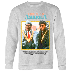 Coming To America 80's Poster Crewneck