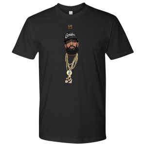 King Nipsey (Black Hat) Tee