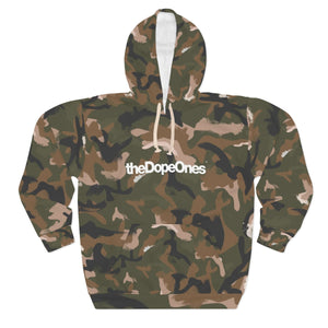 theDopeOnes Painted Camo Hoodie