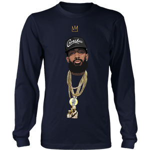 King Nipsey (Black Hat) Longsleeve Tee