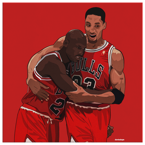 The Flu Game Square Canvas