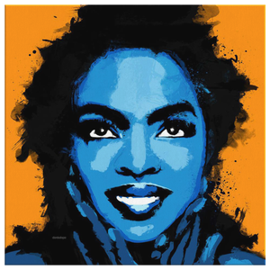Queen Lauryn Hill Square Canvas