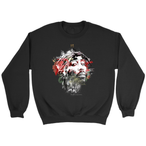 The Rose That Grew From Concrete Crewneck