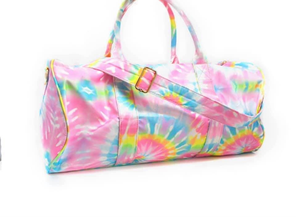 Tie Dye Gym Bag.