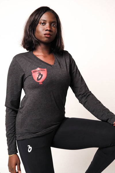 Unisex Long Sleeve Triblend Tee