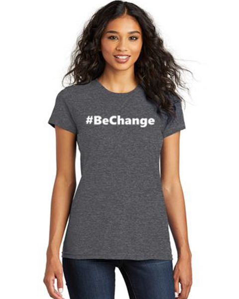 Women's #BeChange T-Shirt