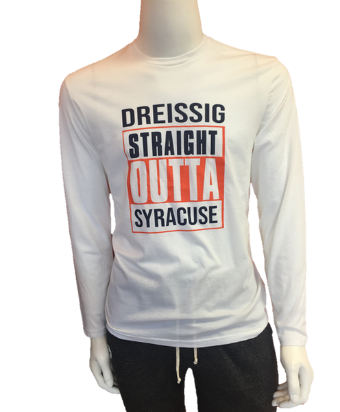 Straight Outta Syracuse Unisex Long Sleeve T-Shirt