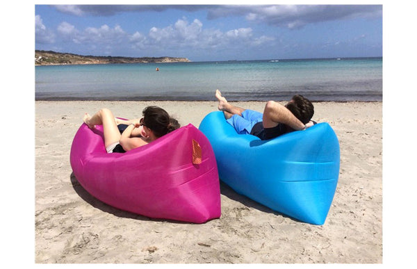 Inflatable Folding Lazy Yogi Bag Waterproof Portable Air Sofa