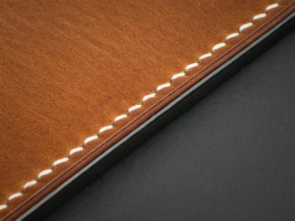 Full Grain Creations dyed leather edges