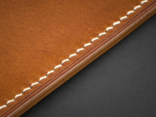 Full Grain Creations natural leather edges