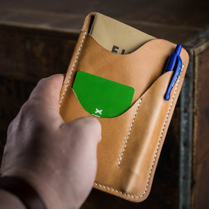 Leather Notebook Caddy