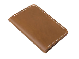 full grain Italian leather cover