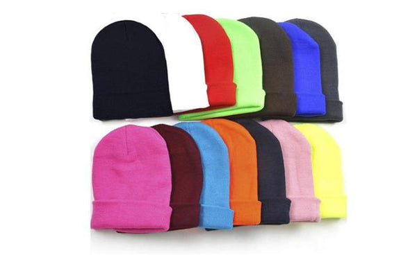 ZENGCAI Multicolor Unisex Skully Winter Hat