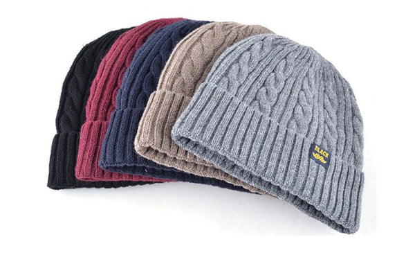 TQMSMY Acrylic Wool Skully Winter Hat