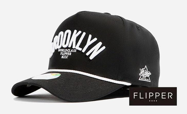 FLIPPER 'Brooklyn' Black Cap