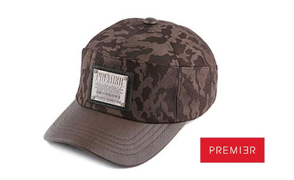 PREMIER 'C.NINE CAMO' Brown Cap