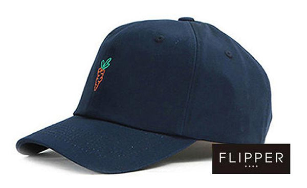 Navy Blue 'Carrots' Cap