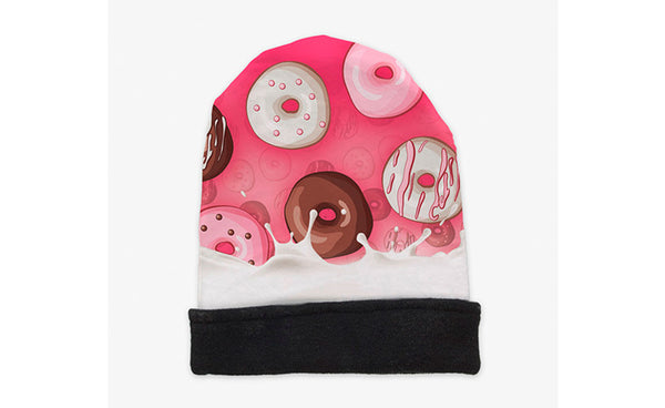ZOHRA Cartoon Shapes Beanie Winter Hat
