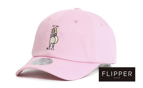 FLIPPER 'Nick Butt' Pink Cap