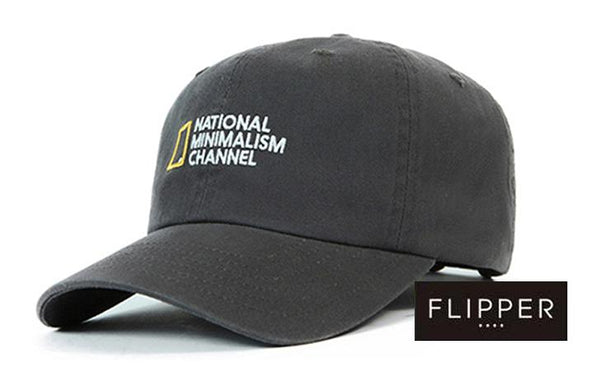 FLIPPER 'National Minimalism Channel' Grey Cap