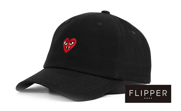 FLIPPER 'Devil Heart' Black Cap